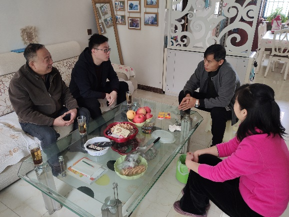 物光院组织开展辅导员家访活动